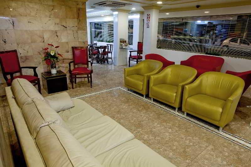 Lobby Lider Hotel Manaus
