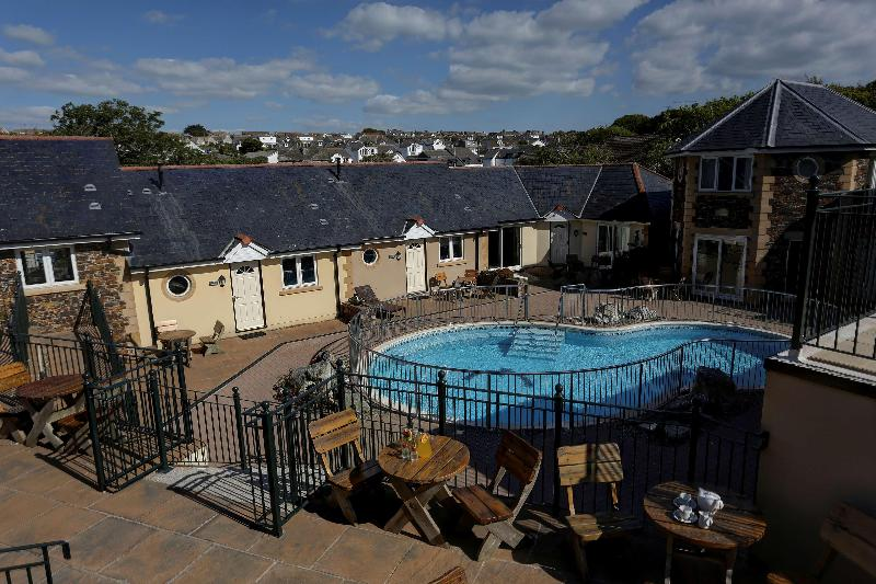 Pool Best Western Porth Veor Manor Hotel