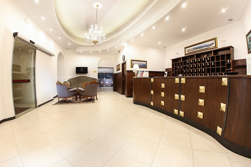 Lobby Grand Hotel Capodimonte