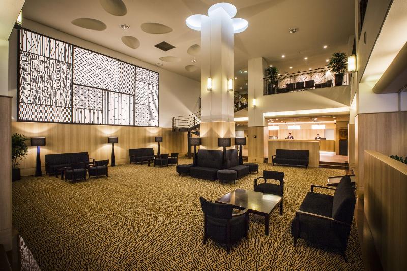 Lobby Hotel Sunroute New Sapporo