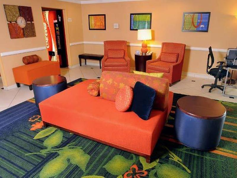 Lobby Fairfield Inn Pittsburgh Cranberry Township
