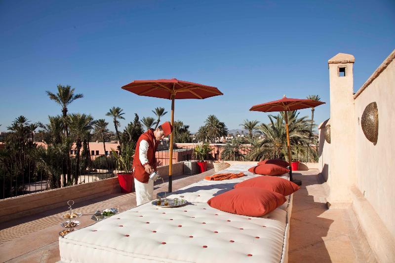 Terrace Riad Charai