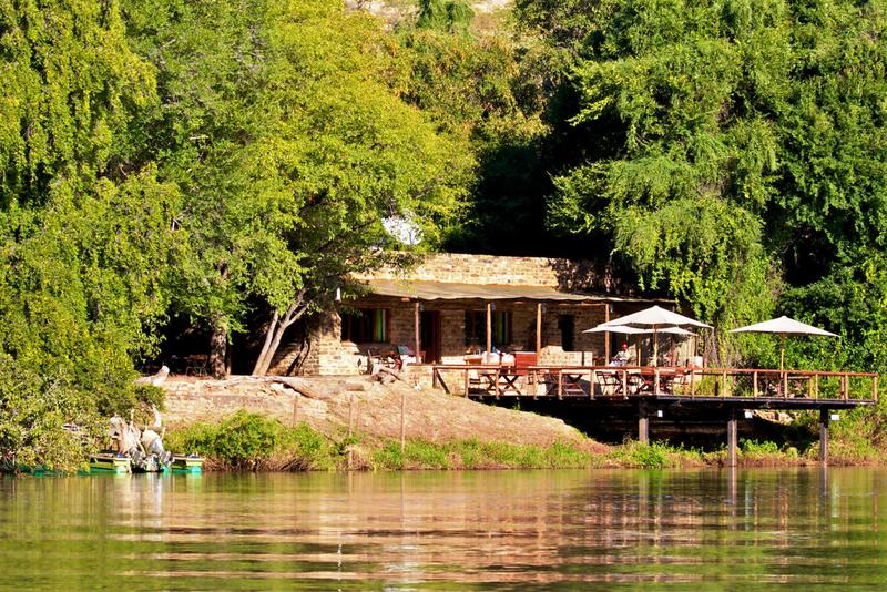 General view Kunene River Lodge