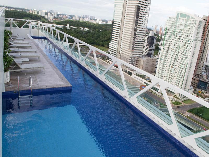 Salvador Business Flat - Pool - 14