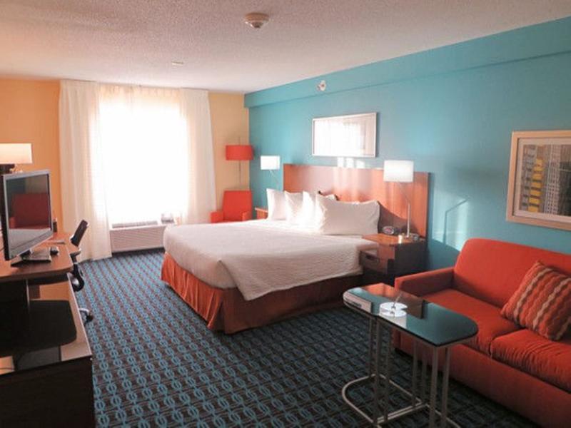 Room Fairfield Inn & Suites St. Louis St. Charles
