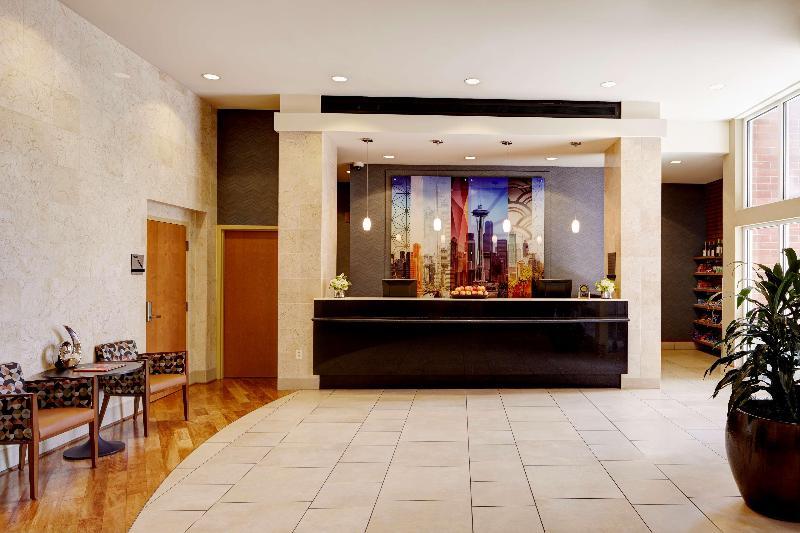 Lobby Hyatt House Seattle/bellevue