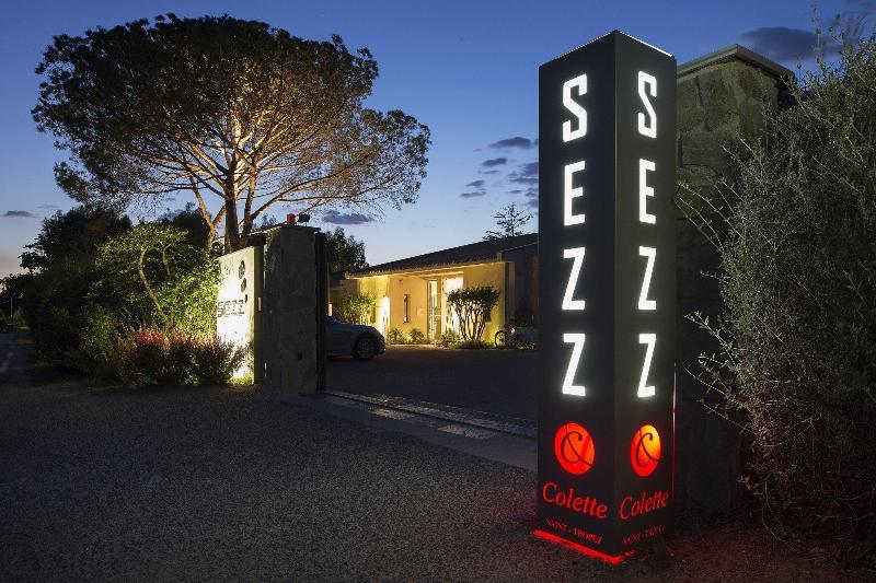 General view Sezz Saint-tropez