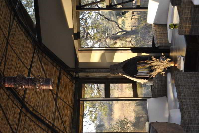 Lobby Nkasa Lupala Tented Lodge