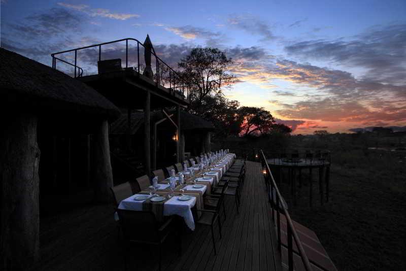 Restaurant Nkasa Lupala Tented Lodge