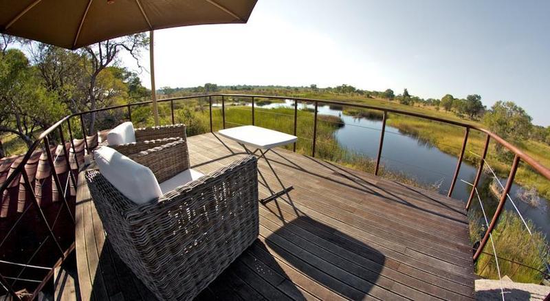 Terrace Nkasa Lupala Tented Lodge