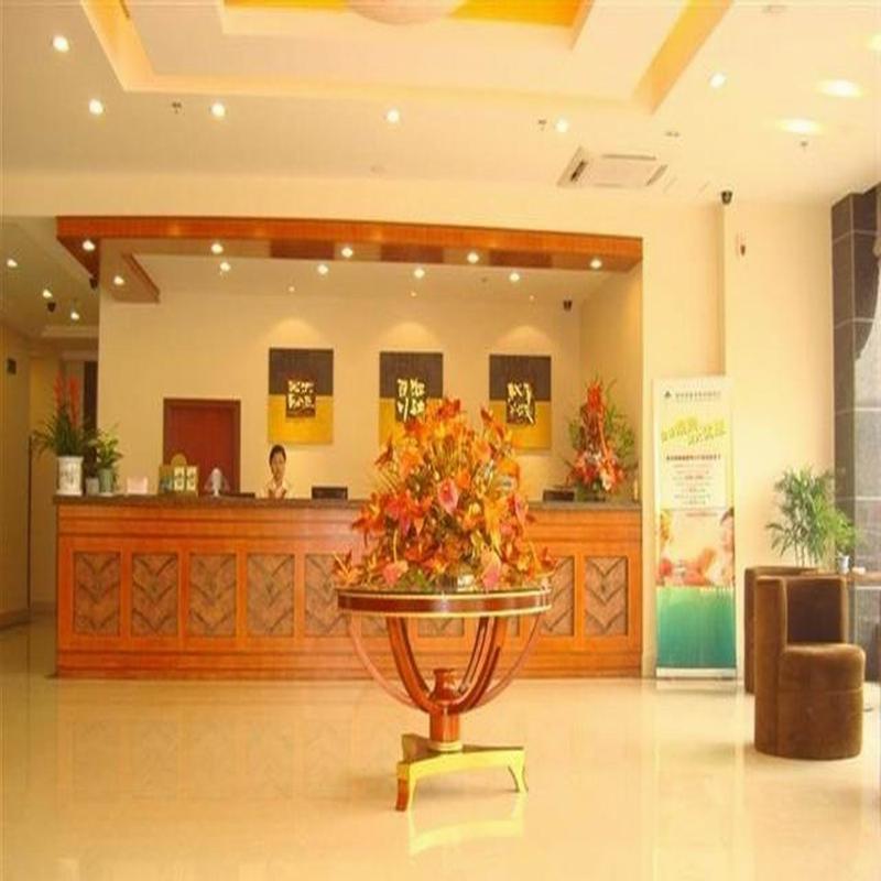 Lobby Greentree Inn Taizhou East Meilan Road Hotel