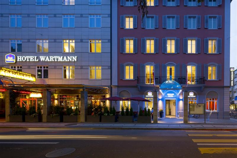 General view Best Western Hotel Wartmann