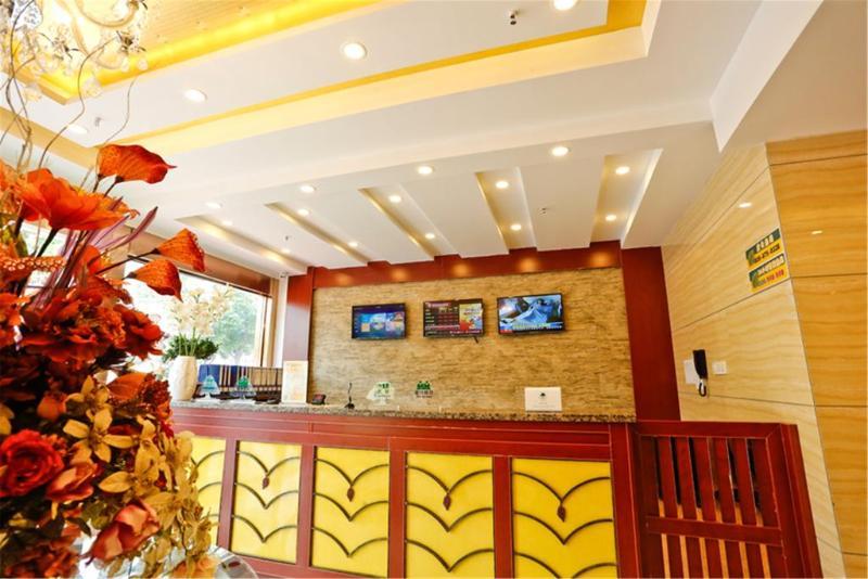Lobby Greentree Alliance Shenzhen Huanan Town Hotel