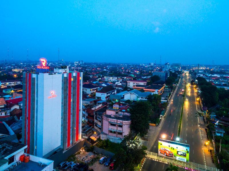 General view Red Planet Palembang