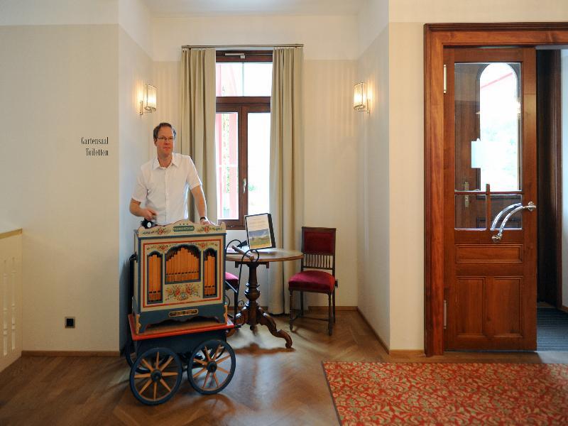 Lobby Jugendstil-hotel Paxmontana