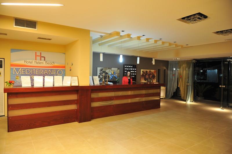 Lobby Heleni Beach Hotel