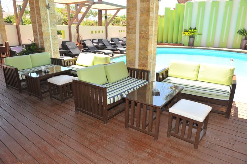 Terrace Heleni Beach Hotel