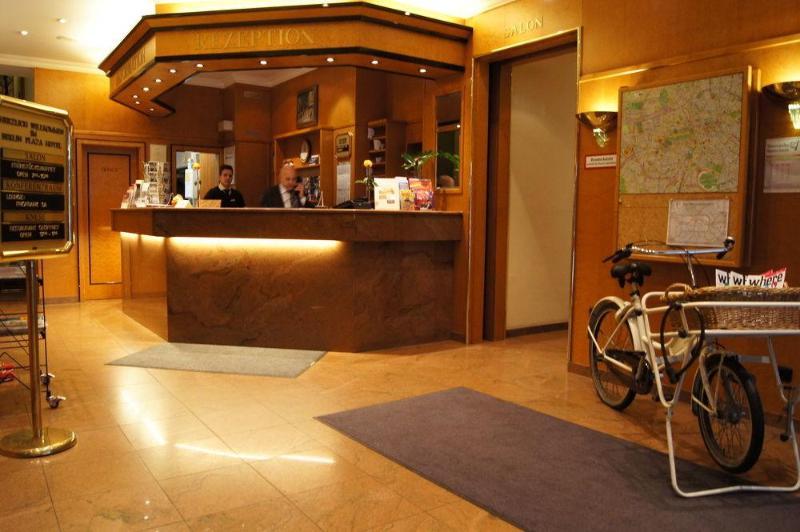 Lobby Berlin Plaza Hotel Am Kurfurstendamm