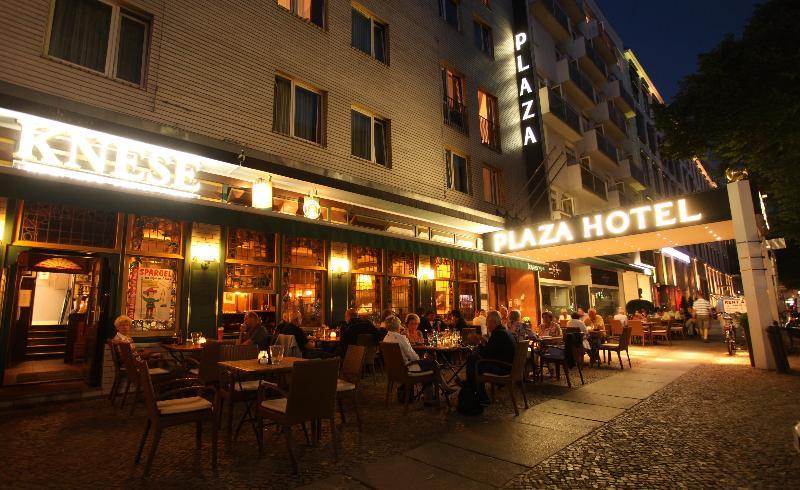 Terrace Berlin Plaza Hotel Am Kurfurstendamm