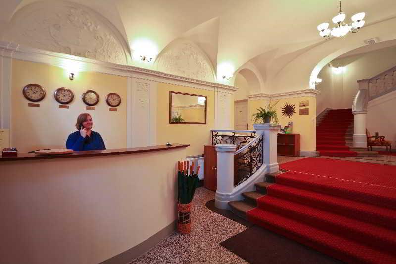 Lobby Hotel U Svatého Jana