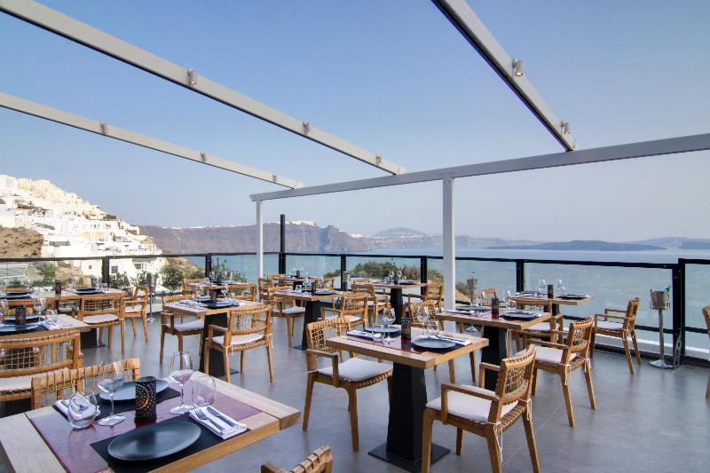 Restaurant Santorini Secret Suites & Spa