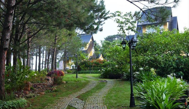 General view Binh An Village Resort Dalat