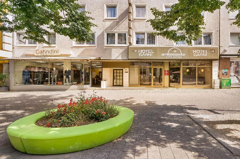 Ambassador City Hotel Essen - Hotel - 4
