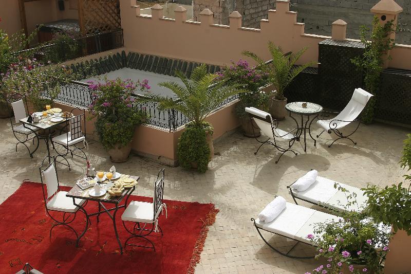 Terrace Riad Amin