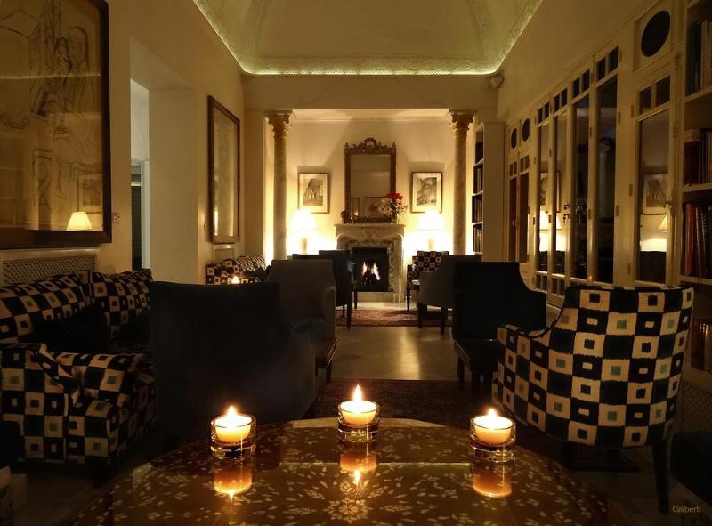 Lobby La Villa Bleue Hotel & Spa