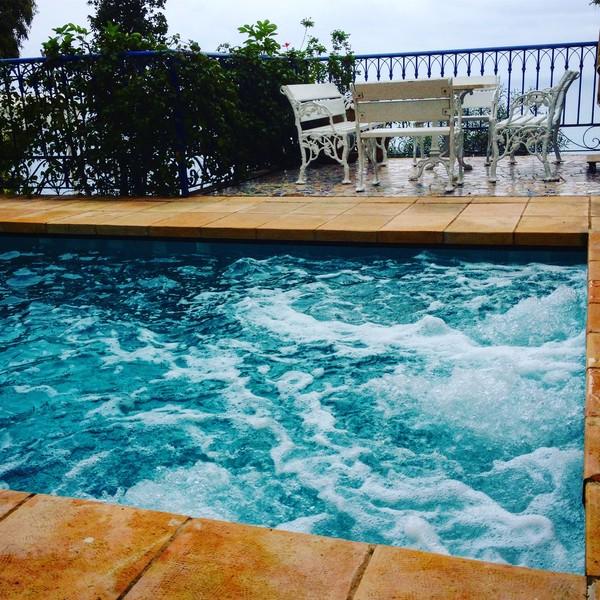 Pool La Villa Bleue Hotel & Spa