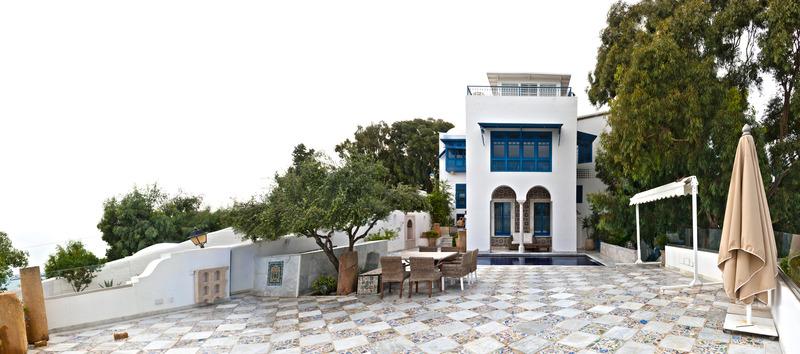 Terrace La Villa Bleue Hotel & Spa