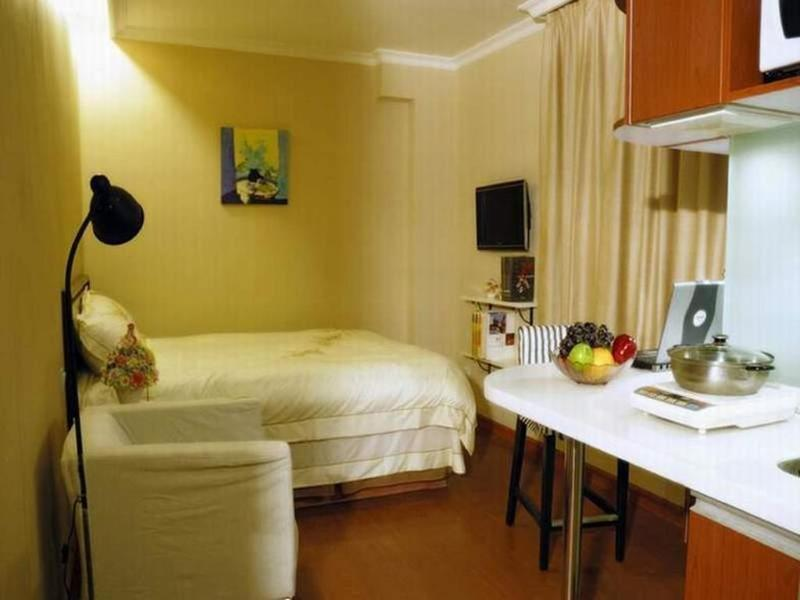Green Tree Inn Hongqiao Airport Apartment Hotel - Room - 7