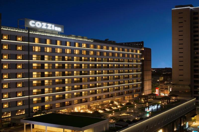 General view Hotel Cozzi Ximen Tainan