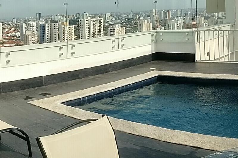 Pool Blue Tree Towers Bauru