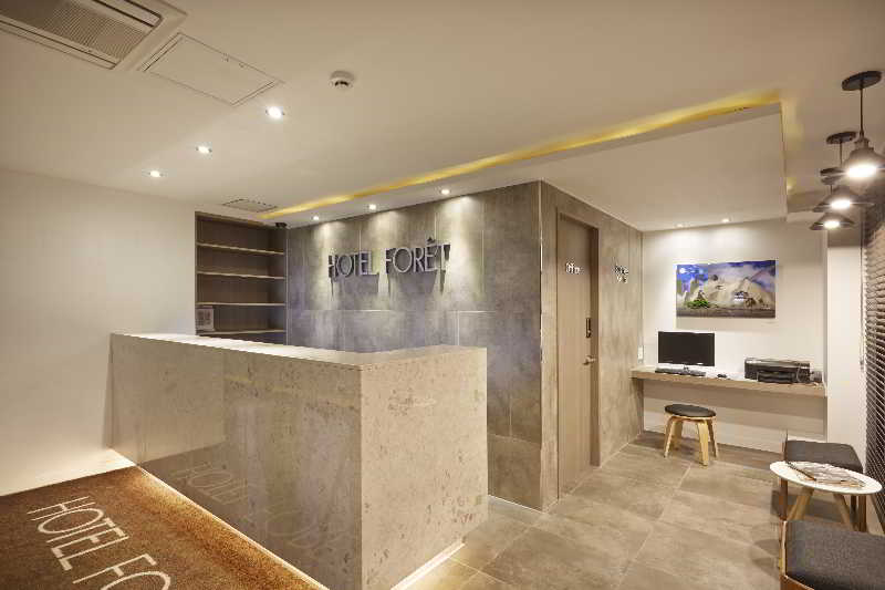 Lobby Hotel Foret Busan Station