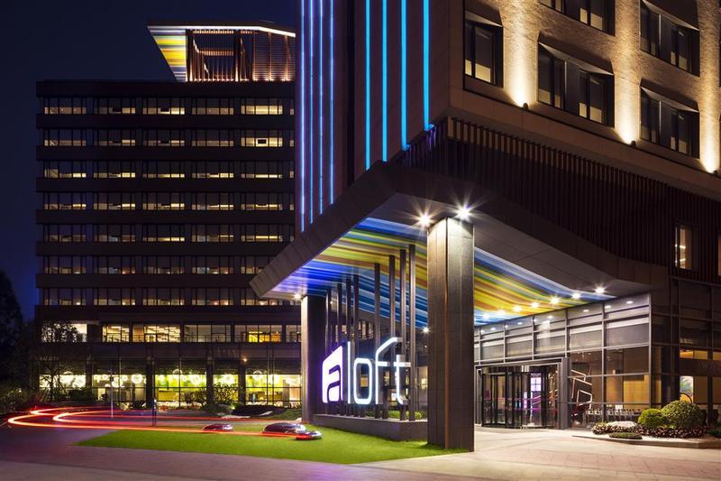Aloft Guangzhou University Park - Hotel - 2