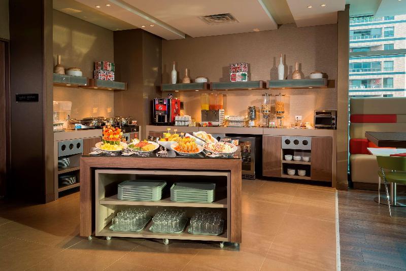 Restaurant Hampton By Hilton Cali