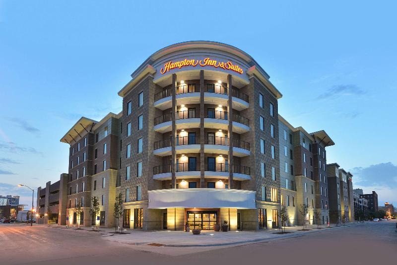 General view Hampton Inn And Suites Des Moines Downtown