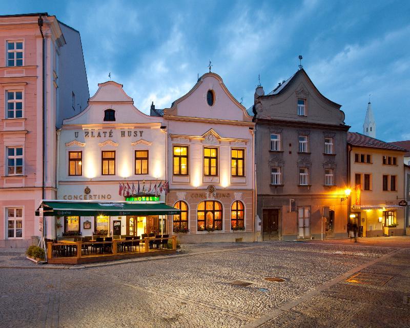 General view Hotel Concertino Zlata Husa