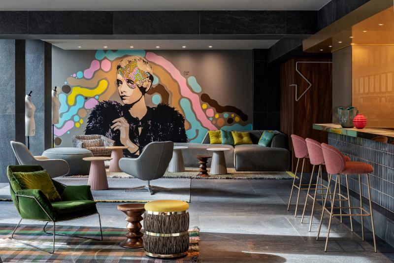 Lobby Hotel Lagare Hotel Milano Mgallery By Sofitel