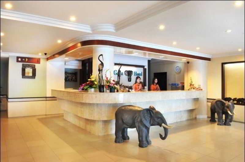 Lobby Gaja Hotel Pekanbaru