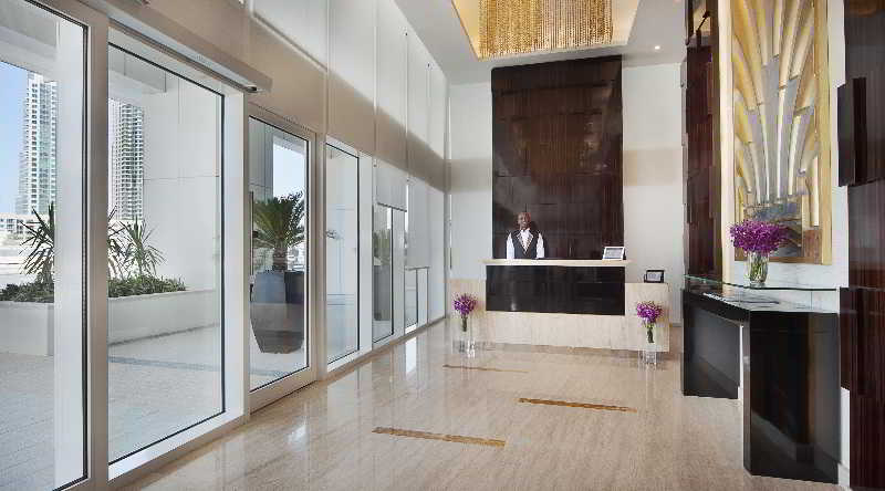 Lobby Damac Maison Canal Views