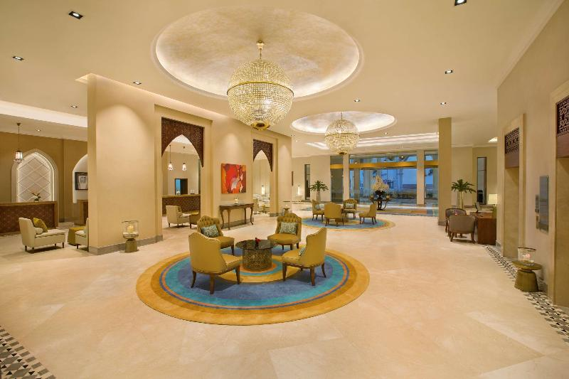 Lobby Doubletree By Hilton Resort & Spa Marjan Island