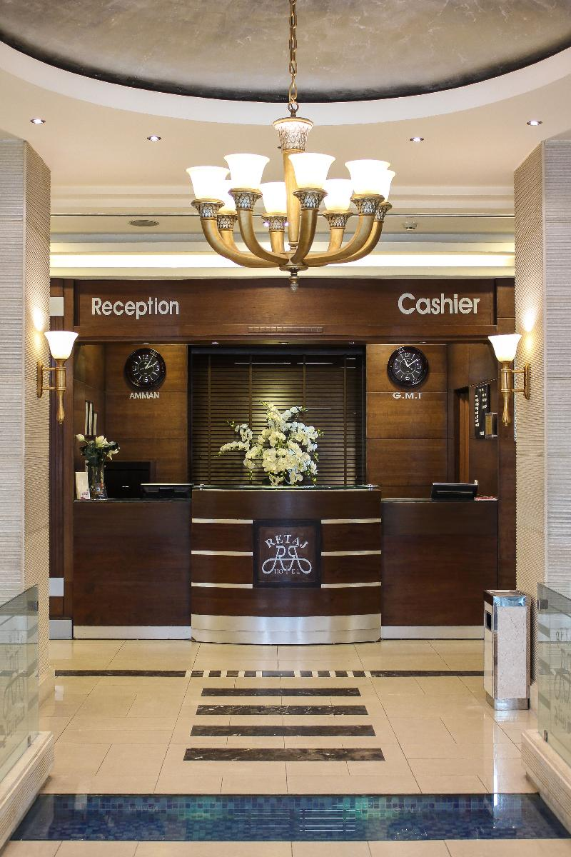 Lobby Retaj Hotel