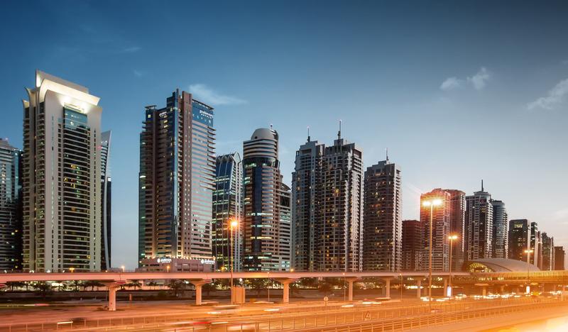 General view Pullman Dubai Jlt