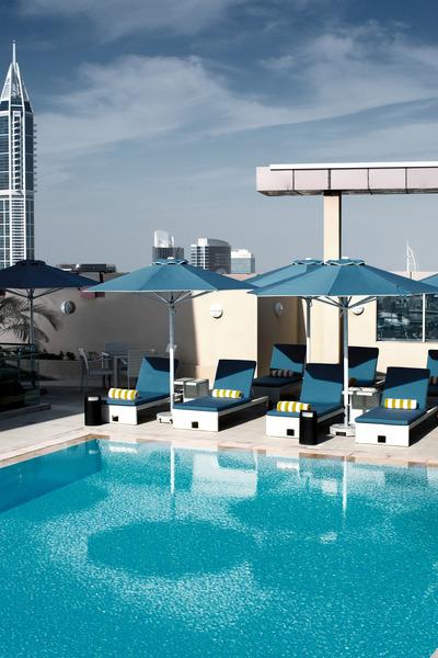 Pool Pullman Dubai Jlt