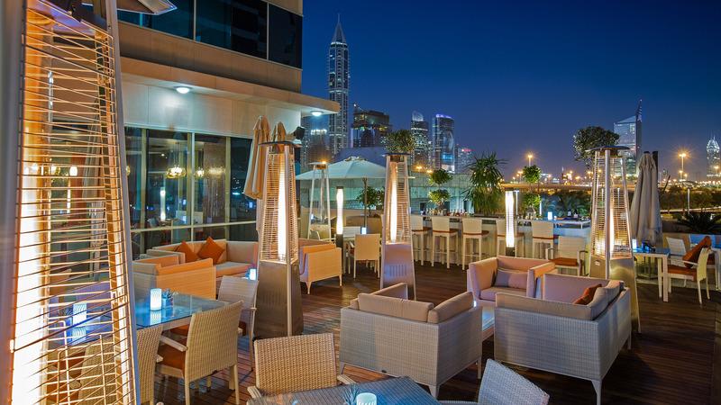 Terrace Pullman Dubai Jlt