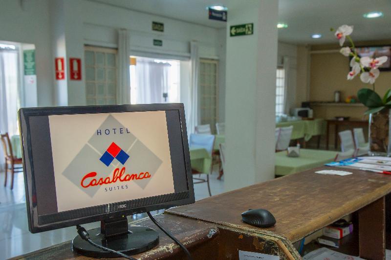 Lobby Casablanca Suites Hotel