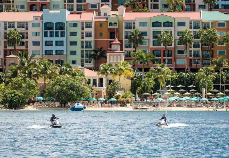 General view Marriott\'s Frenchman\'s Cove