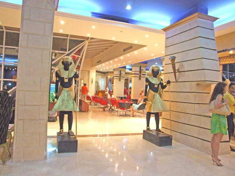 Lobby King Tut Aqua Beach Resort